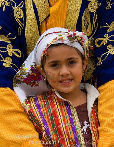 Girl at Turkish Festival, Monterey Ca.