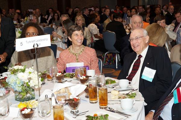 Tenth anniversary luncheon of the Turknett Leadership Character Awards, held at the Georgia Aquarium.