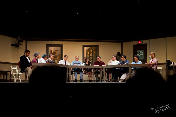 Roy C Ketcham high school Masque and Mime Society present Twelve Angry Jurors.