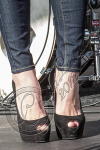 LOS ANGELES, CA - NOVEMBER 10:  Actress Ashley Greene (shoe detail) attends the Twilight fan camp concert at L.A. LIVE on November 10, 2012 in Los Angeles, California.  (Photo by Chelsea Lauren/WireImage)