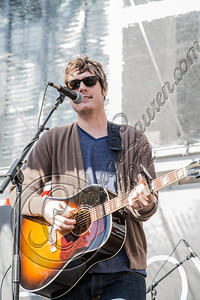 LOS ANGELES, CA - NOVEMBER 10:  Musician Dave Wilton of  A Boy and His Kite performs at the Twilight fan camp concert at L.A. LIVE on November 10, 2012 in Los Angeles, California.  (Photo by Chelsea Lauren/WireImage)