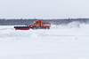 Moosonee Airport. Clearing the runways.