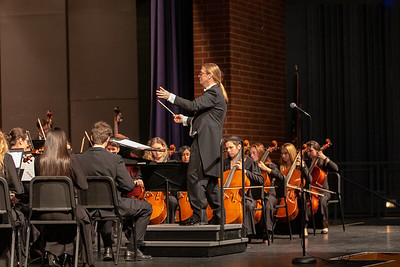 Twinsburg High School Orchestra Holiday Concert 2018