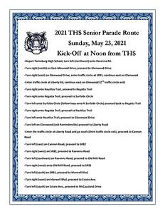 Twinsburg High School Senior Parade (2021-05-23)