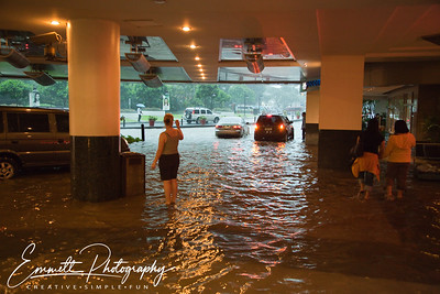 Outside Glorietta Mall, Makati, Philippines