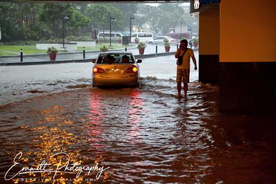 Outside Glorietta Mall, Makati, Philippines