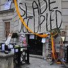 First day of the Slade occupation.