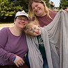 Dana, Miriam and Boaz at UCSC Queer Family Picnic 2008