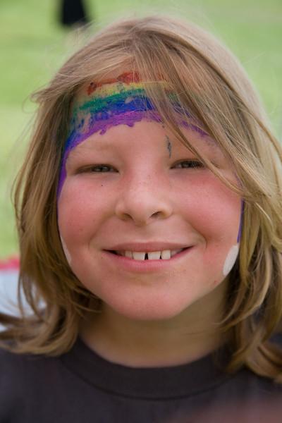 Brandon & Family at UCSC Rainbow Family Picnic 2008