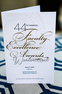 UCSD Faculty Excellance Awards
