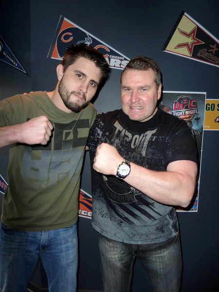 "UFC Fighter Carlos ""The Condor"" Condit with Darren Malone"