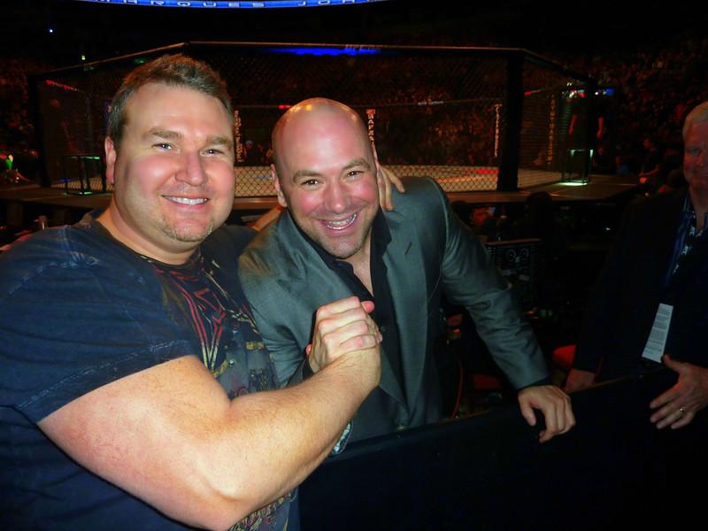 UFC President Dana White the Greatest MMA Ambassador Ever!  with Darren Malone