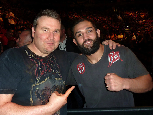 UFC Fighter Johny Hendricks Winner with Darren Malone