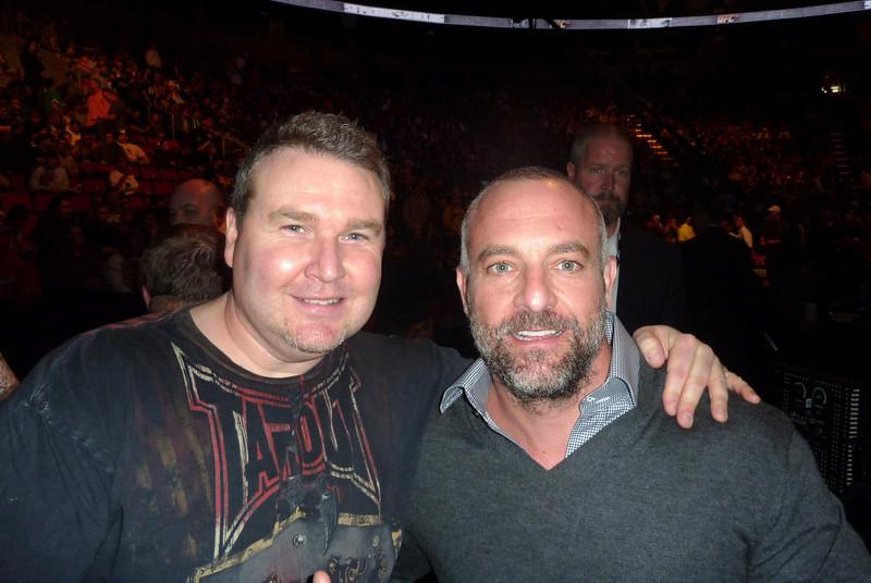 UFC Owner Lorenzo Fertitta with Darren Malone