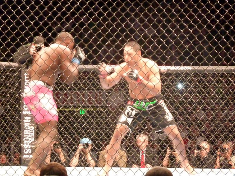 "Antonio ""Little Nog"" Rogerio Nogueira Lost (winner of 8 of 9 last fights)"