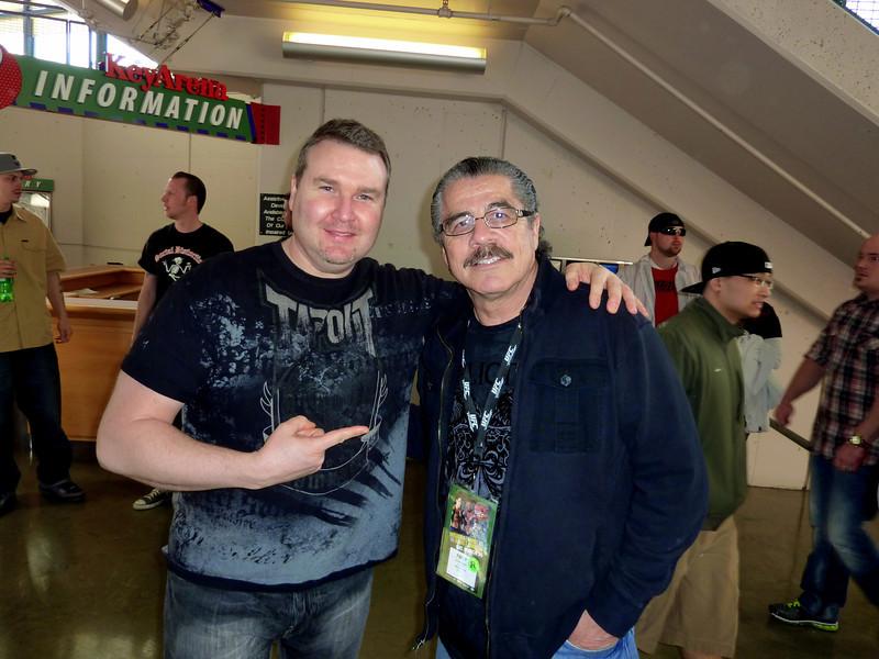 """Jacob """"Stitch"""" Duran, UFC's premiere cutman with Darren Malone"""