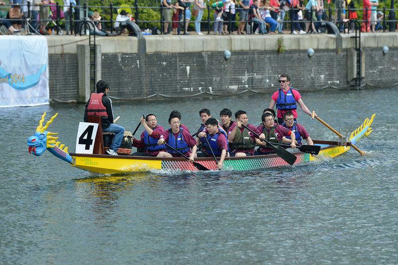 UK Chinese Dragon Boat Festival 2014