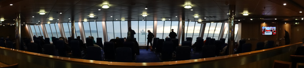 Aboard the Ferry Stena Adventurer