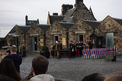21 Gun Salute-Prince Charles 69th Birthday_Edinburgh Castle_Edinburgh_Scotland_GJP02902