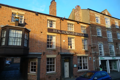 Sea Horse Hotel, Fawcett Street, York, UK