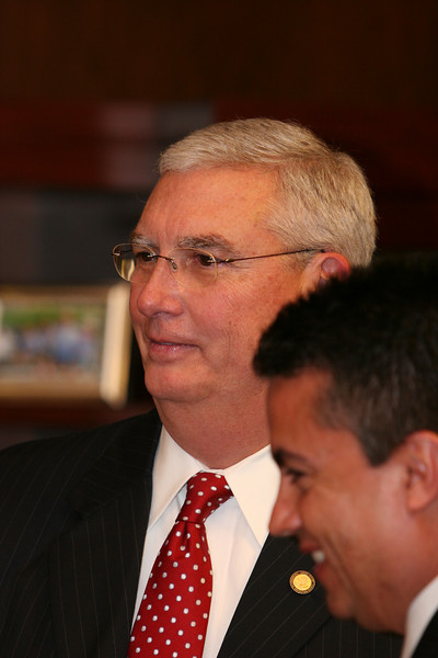Administrator Stephen Johnson and Regional Administrator Wayne Nastri