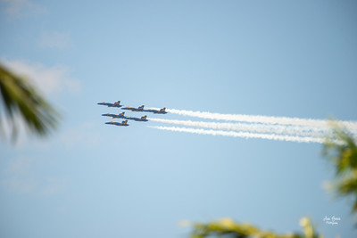 US Navy Blue Angels America Strong | Florida Nature, Landscape, Waterscape, Event Photographer | Ana Garcia Photography