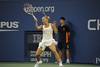 Caroline Wozniacki<br /> competes at the 2011 US OPEN tennis challenge.<br /> (September 5, 2011)
