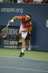 Juan Monaco competes at the US OPEN Tennis Challenge 9-5-11. photo by Rob Rich/SocietyAllure.com © 2011 robwayne1@aol.com 516-676-3939