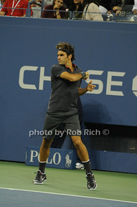 Roger Federer  competes at the US OPEN Tennis Challenge 9-5-11. photo by Rob Rich/SocietyAllure.com © 2011 robwayne1@aol.com 516-676-3939
