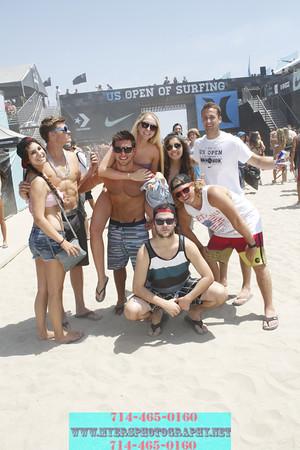 US Open Surf Huntington Beach Ca. August 4th Candid Photos