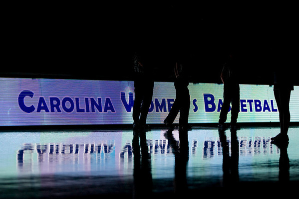 Dec 6, 2009; Chapel Hill, NC, USA; Prior to the game between the North Carolina Tar Heels and St. John's Red Storm at the Dean Smith Center.  Mandatory Credit: Brian Utesch-US PRESSWIRE