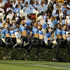 Oct 22, 2009; Chapel Hill, NC, USA; North Carolina Tar Heels dance squad performs during the game against the Florida State Seminoles at Kenan Memorial Stadium.  The Seminoles defeated the Tar Heels 30-27.  Mandatory Credit: Brian Utesch-US PRESSWIRE