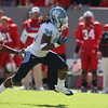 Nov 28, 2009; Raleigh, NC, USA; North Carolina Tar Heel wide receiver Johnny White (34) runs after a catch against the North Carolina State Wolfpack during the first half at Carter-Finley Stadium.  Mandatory Credit: Brian Utesch-US PRESSWIRE