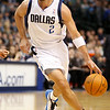 Dec 28, 2010; Dallas, TX, USA; Dallas Mavericks guard Jason Kidd (2) dribbles the ball during the first half against the Toronto Raptors at the American Airlines Center.  The Raptors defeated the Mavericks 84-76.  Mandatory Credit: Brian Utesch-US PRESSWIRE