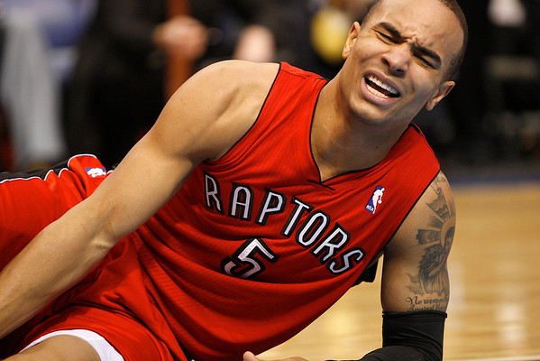 Dec 28, 2010; Dallas, TX, USA; [CAPTION] during the second half at the American Airlines Center.  The Raptors defeated the Mavericks 84-76.  Mandatory Credit: Brian Utesch-US PRESSWIRE