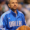 Dec 28, 2010; Dallas, TX, USA; Dallas Mavericks guard Jason Kidd (2) warms up prior to the game against the Toronto Raptors at the American Airlines Center.  The Raptors defeated the Mavericks 84-76.  Mandatory Credit: Brian Utesch-US PRESSWIRE