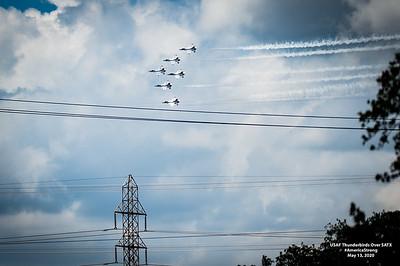 USAF Thunderbirds Over SATX