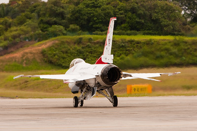 USAF Thunderbirds stunning display of air prowess in Malaysia