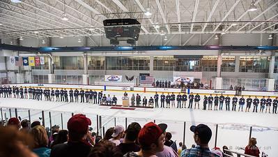 August 27, 2013. 2014 Olympics USA Mens Hockey introductions, Kettler Ice Plex, Arlington, VA. Copyright © 2013 Jamie Kellner. All rights reserved.
