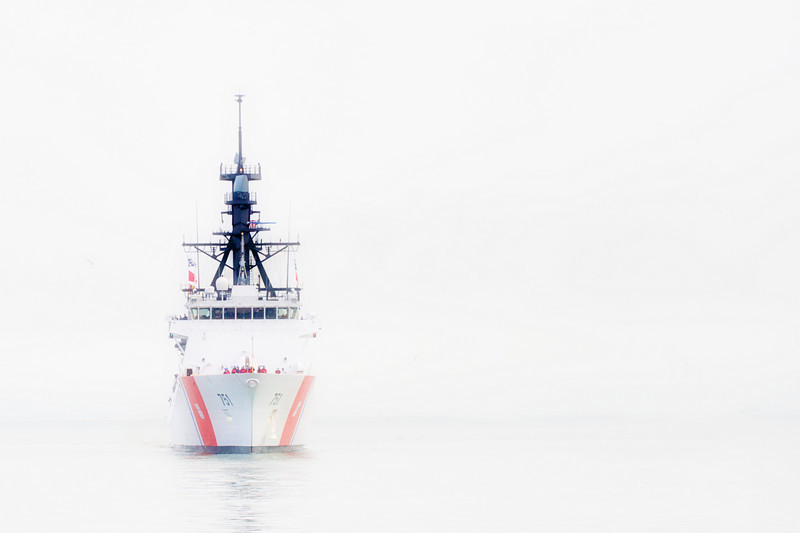 Sponsor Sail, USCGC Waesche<br /> <br /> Tugless version of that last image.