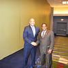 Congressman André Carson and TMC President, Imam Warithud-Deen Mohammed II
