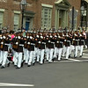 USMC Silent Drill Platoon - The 8th & I <br /> Marching on Newport RI Police Parade - May 6, 2012