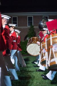 USMC Silent Drill Team Parade