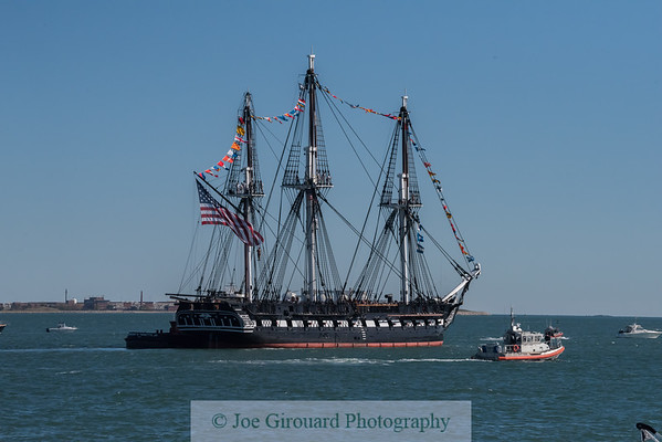 USS Constitution Turn Around