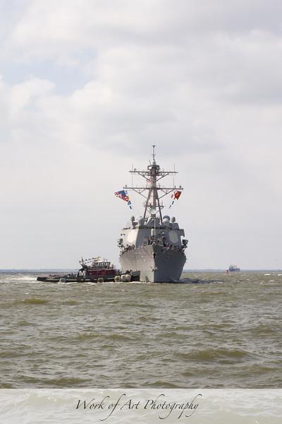 USS Oscar Austin Homecoming