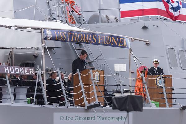 USS Thomas Hudner Commissioning