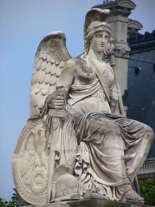 Statue near Louvre