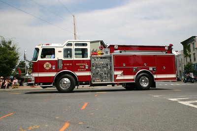 Ulster County Firemans Convention Parade - July 26, 2008
