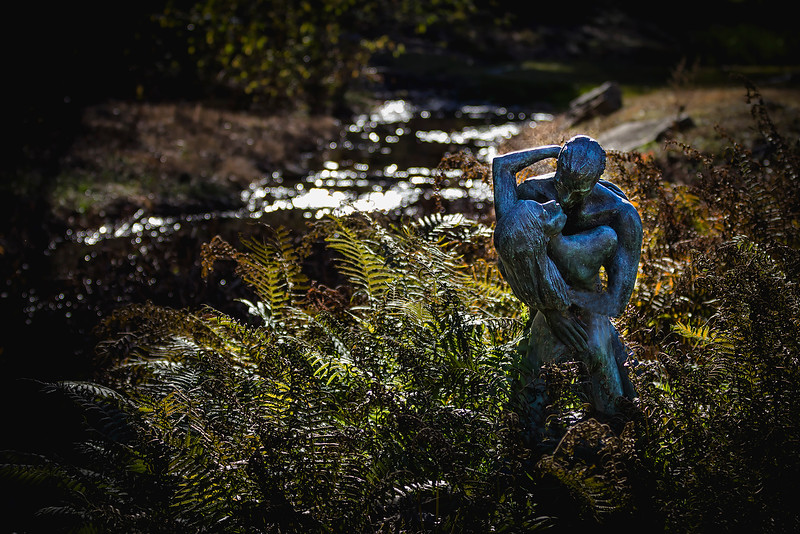 Umlauf Garden Center - Lovers V 1975, bronze