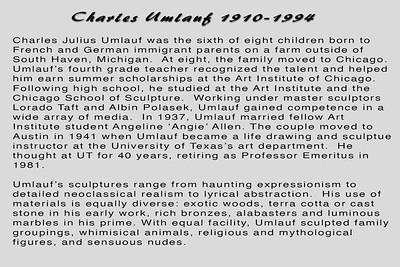 Charles Umlauf 1910-1994